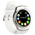 G3 gsm mart watch phone for iphone with heart rate inspection