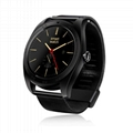 k89 metal smart watch with heart rate