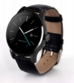 k88h metal bluetooth smart watch phone with heart rate