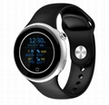 C5 heart rate watch with round panel