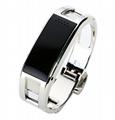 APP metal bluetooth bracelet answer call