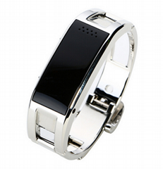 APP metal bluetooth bracelet answer call vibrating caller id
