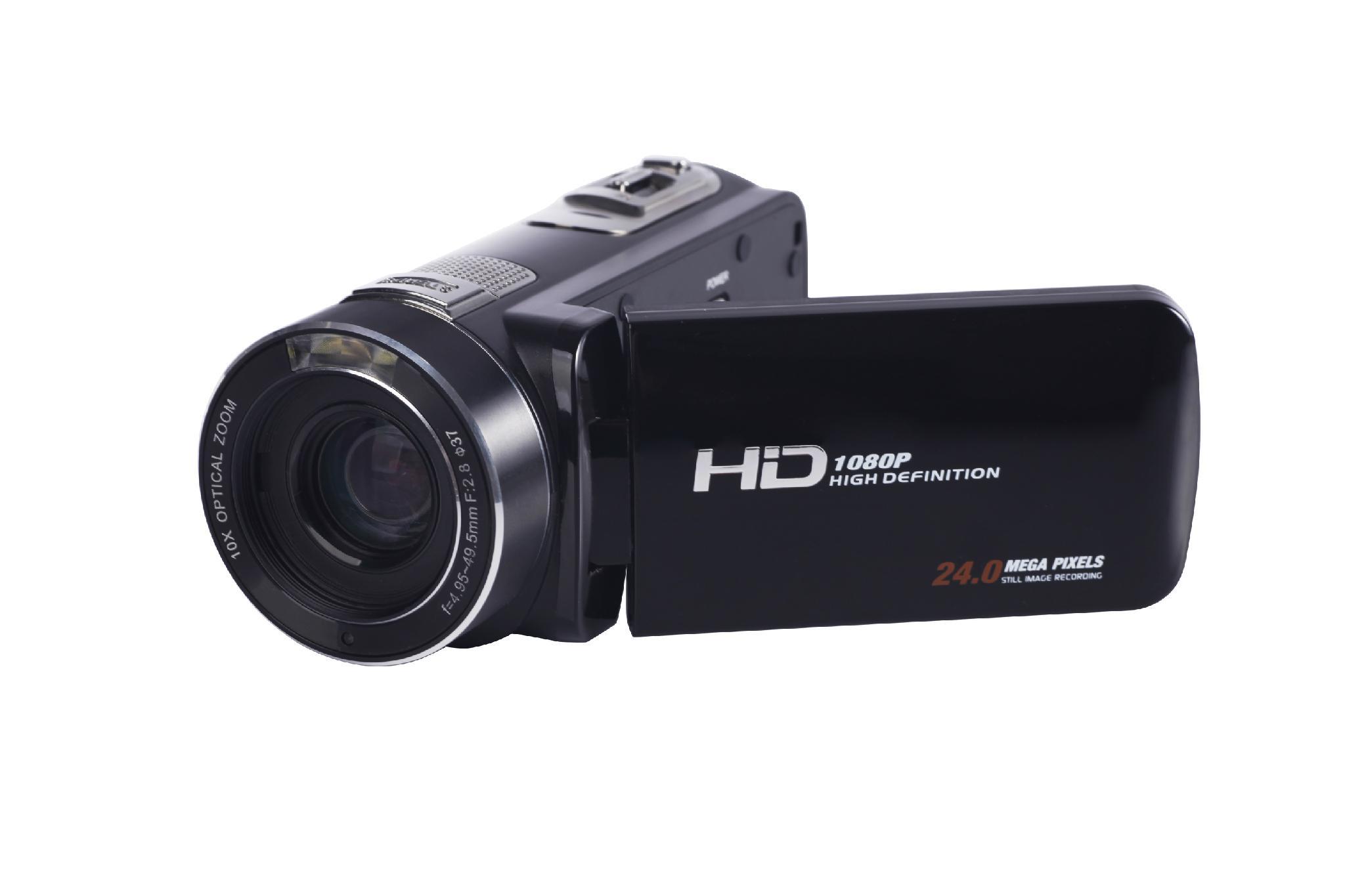 2400萬數碼攝像機 3.0 觸摸屏 20倍光學變焦120倍數碼變焦 5