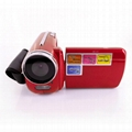 max 12mp digital video camera with 1.8'' TFT display, HD 4x digital zoom video 4