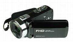 2400万数码摄像机/3.0'' 显示屏,16倍数码变焦 数码DV