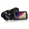 24MP WIFI digital video camcorder with 3.0'' touch display and 16x digital zoom 2