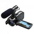 24MP WIFI digital video camcorder with 3.0'' touch display and 16x digital zoom 4