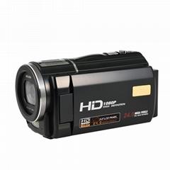 2400萬數碼攝像機,DV 3.0 觸摸屏 16倍數碼變焦 錄像機
