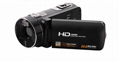 full hd 24mp digital camcorder with 3.0'' touch screen