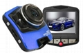 full hd 1080p car black box with 2.3'' TFT dislay car dvr dash board