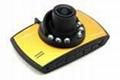 full hd 1080p car black box with 2.7'' TFT dislay car dvr dash board