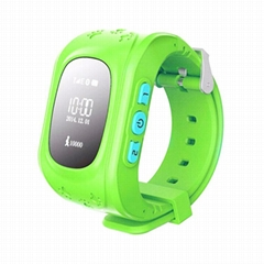 Q50 GSM kids gps tracker smart watch phone