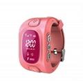 Y3 GSM kids gps tracker smart watch phone 3