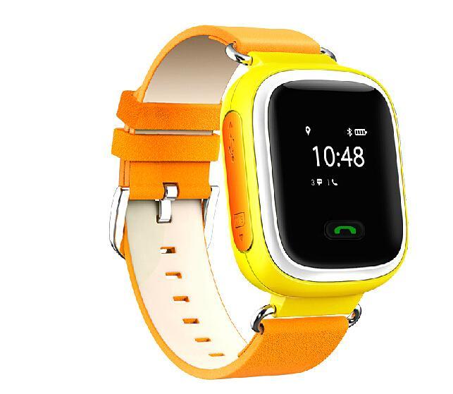 Y4GSM kids gps tracker smart watch phone 3