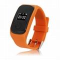 PG22 GSM kids gps tracker smart watch