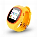 S866 GSM kids gps tracker smart watch phone 2