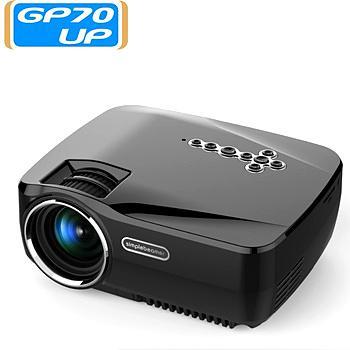 GP70/70UP 800流明迷你小型投影儀,家庭投影儀 1