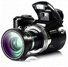 16MP DSLR digital camera with 2.4'' TFT