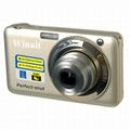 2000万像素数码相机与2.7''TFT显示屏支持4倍数码变焦8倍光学变焦