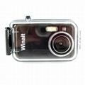 2mp diposable waterproof digital camera