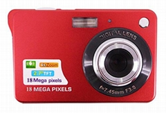 18MP digital camera with