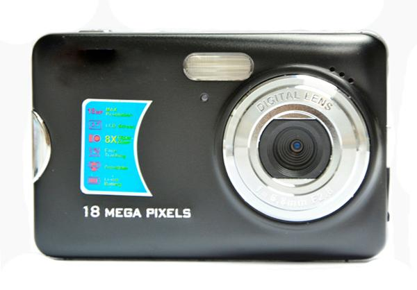 12 MP digital camera with 2.7'' TFT display 8x digital zoom lithium battery 1
