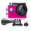 w9R 4k waterproof sports camera with remoter action camera 4