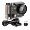 H8R 4K 360 VR Waterproof sports camera/wifi action camera