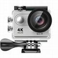 H9 super 4k wifi action sports camera with 2.0'' TFT dsiplay 7
