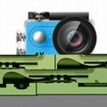 英耐特全高清防水運動相機帶WiFI H9