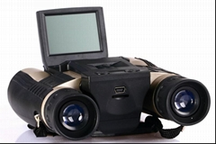 HD720P binocular digital camera with 2.0'' TFT display