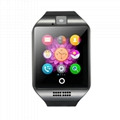 Q18 GSM smart phone watch with sim card and camera