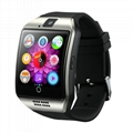 Q18 GSM smart phone watch with sim card
