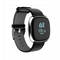 p2 waterproof smart watch with heart