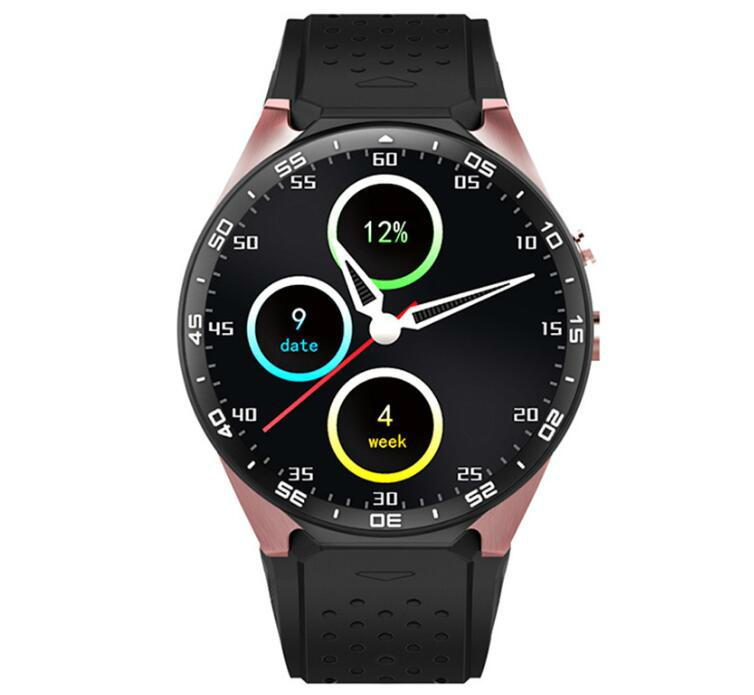 KW88  安卓智能手錶,觸摸屏手錶手機 4