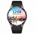 KW88  安卓智能手錶,觸摸屏手錶手機 1
