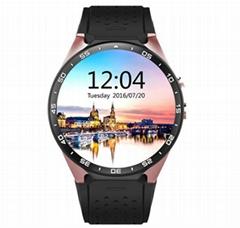 KW88  安卓智能手錶,觸摸屏手錶手機