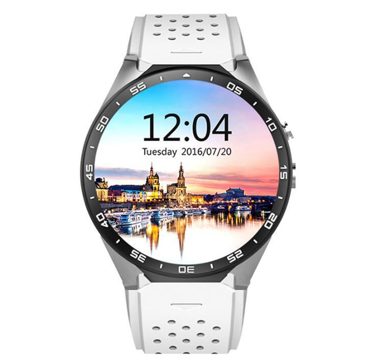 KW88  安卓智能手錶,觸摸屏手錶手機 5