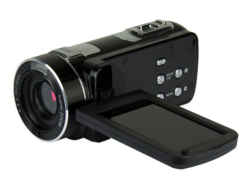 Full hd 1080p night vision digital video camera with remoter mini dv 4