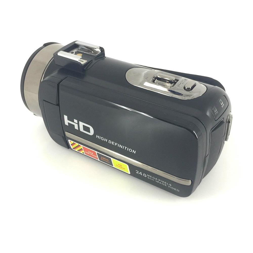 newest night vision digital video camera with micro phone hot shoe mini DV 5