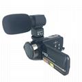 newest night vision digital video camera with micro phone hot shoe mini DV 2
