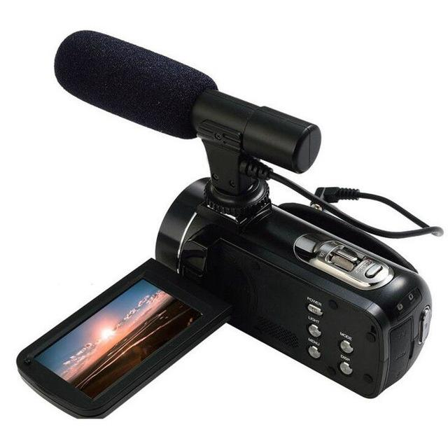 24MP WIFI digital video camcorder with 3.0'' touch display and 16x digital zoom 1