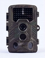 1280x720/30fps wild trail hunting camera with  IR flash light
