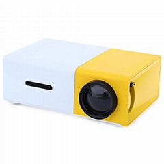 YG300 mini home theater, gift pocket projector