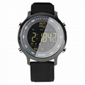 EX18 waterproof sports fitness smart watch