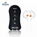 winait newest sports waterproof MP3 player, music player