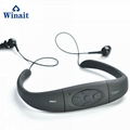 winait portable waterproof sports mp3 player, music player headset  MP168
