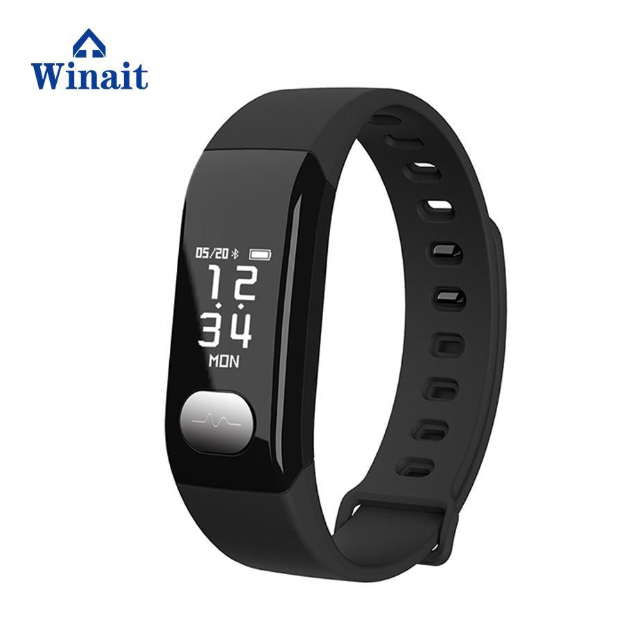 E29 ip67 waterproof heart rate, blood pressure smart bracelet/wrist band 1