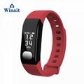 E29 ip67 waterproof heart rate, blood pressure smart bracelet/wrist band 2