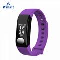 E29 ip67 waterproof heart rate, blood pressure smart bracelet/wrist band 3